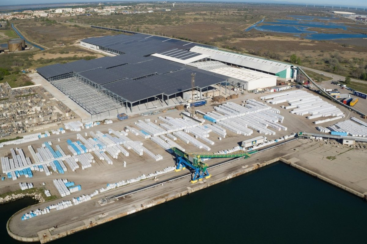 Toiture industrielle Méditourbe Cap Vert Energie