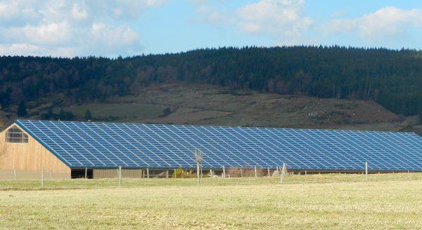 Batiment photovoltaïque LaBesseyre CVE