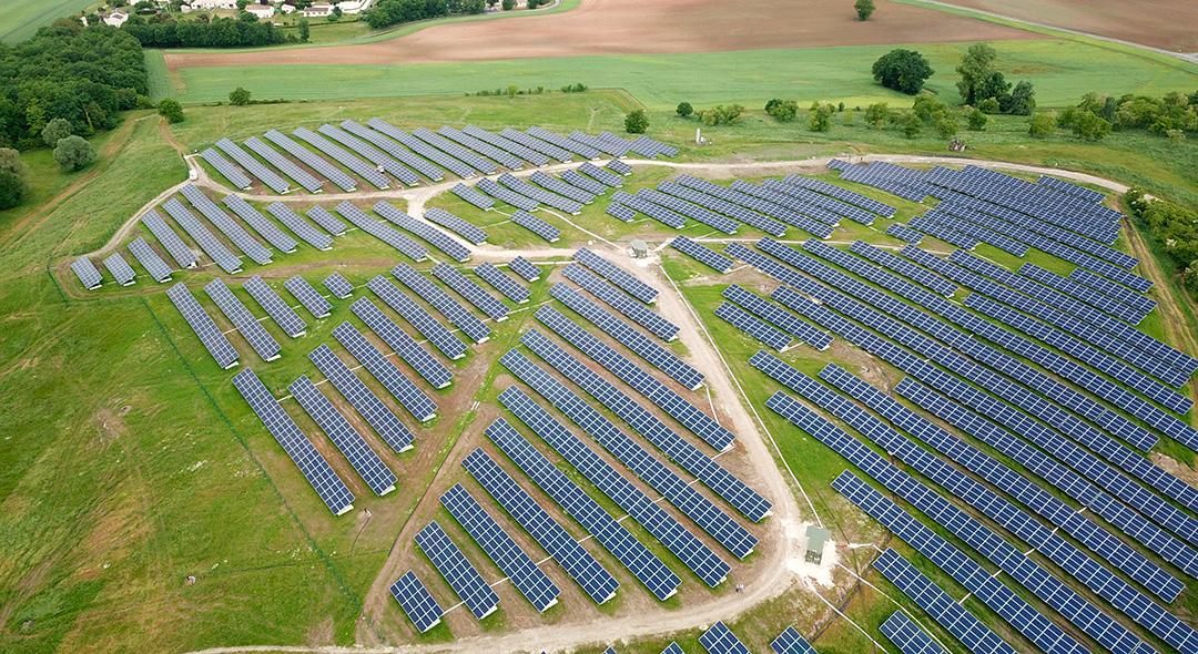 Centrale au sol La Couronne Cap Vert Energie
