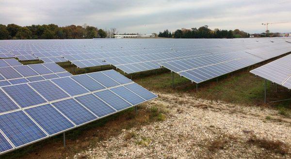Centrale au sol photovoltaïque Monteleger