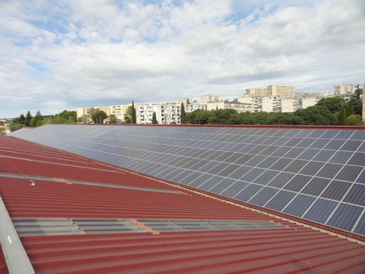 Toiture solaire photovoltaïque Nîmes Cap Vert Energie