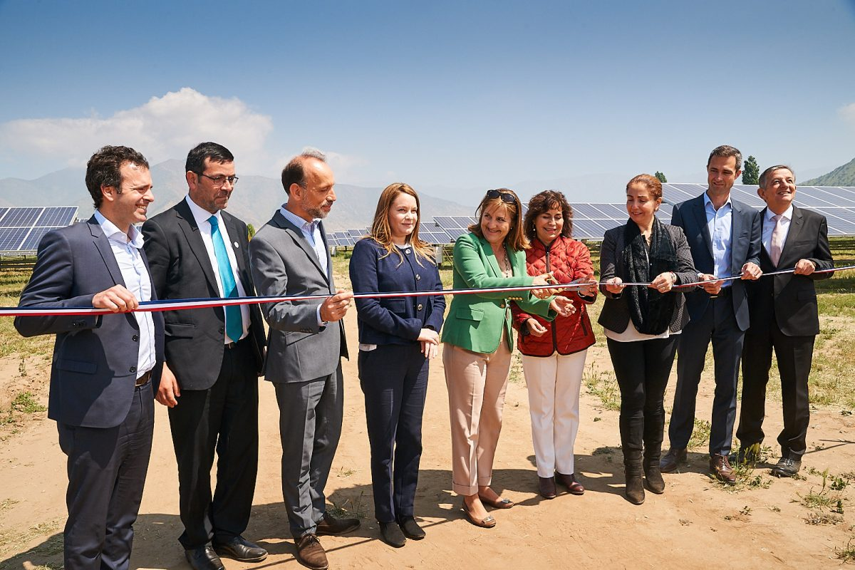 Inauguration centrale au sol Chili CVE