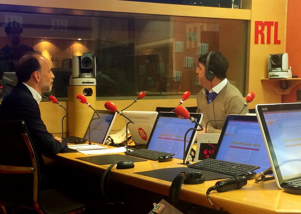 Intevriew de Pierre de Froidefond sur RTL