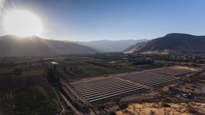 Centrale Valle-de-la-luna CVE Chile