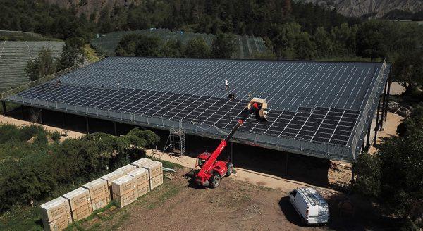 Bâtiment photovoltaïque - Cap Vert Energie