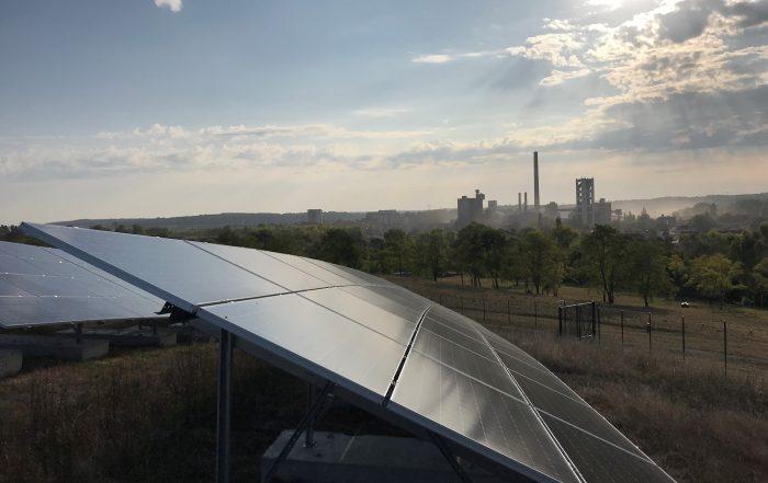 Centrale photovoltaïque de La Couronne - CVE