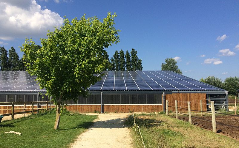 Building-integrated photovoltaics, Cantal, Cap Vert Energie
