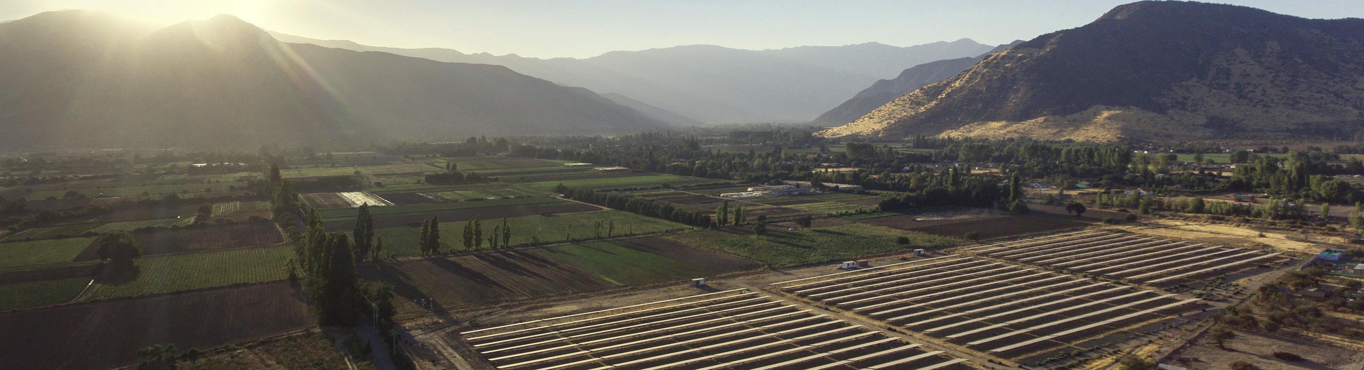 Centrale au sol photovoltaïque Chili - CVE